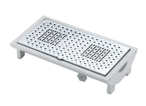 Large Table Food Warmer Two  Candles
